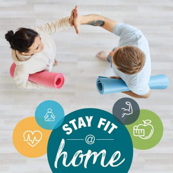 Online-Angebot MyHomeFITNESS & StayFit@Home-App